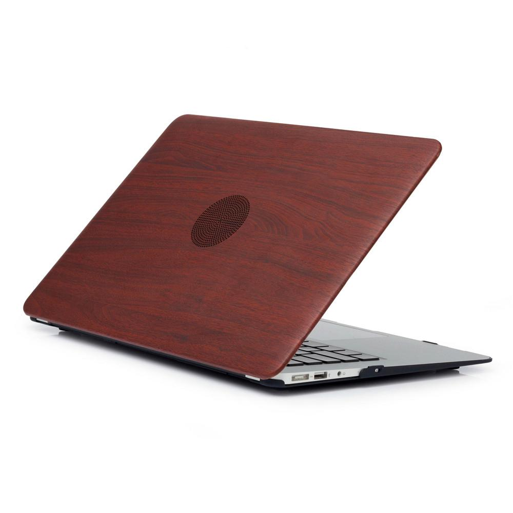 MacBook Pro 16 Inch Case Wood Grain Soft Touch Hard Shell Protective Cover 04