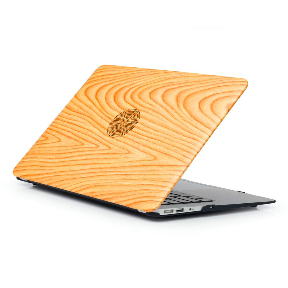 MacBook Pro 16 inch Case 2019 Wood Printing Plastic Hard Shell Cover Notebook Anti Scratch Case 01
