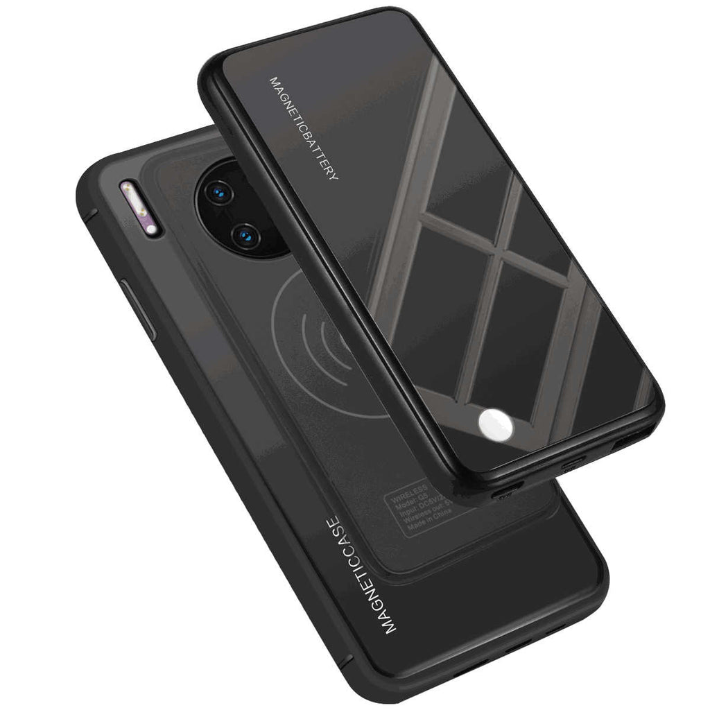 Huawei Mate 30 Pro Battery Case Anti Shock Protective Cover 5000mah Extended Charger Black