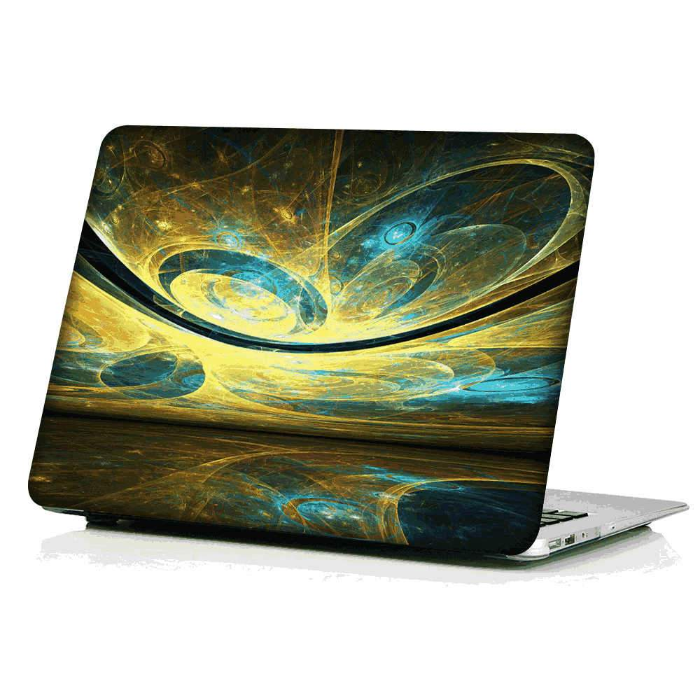 Macbook Pro 16 Hard Case Notebook Shockproof Protective Case with Retina Display 16 inch (Phoenix Tail)