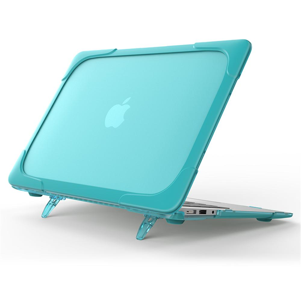 Transparent Ultra Thin Case for MacBook Air 13 inch Retina Display Smooth Hard Shell Case Cover Light Blue