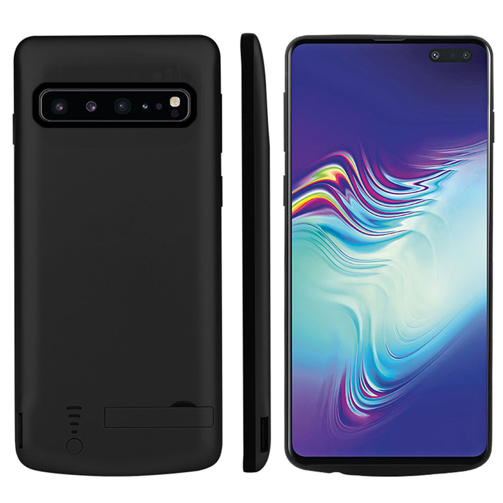 Samsung Galaxy S10 5G Battery Case 5000mAh External Backup Charger Power Bank Black