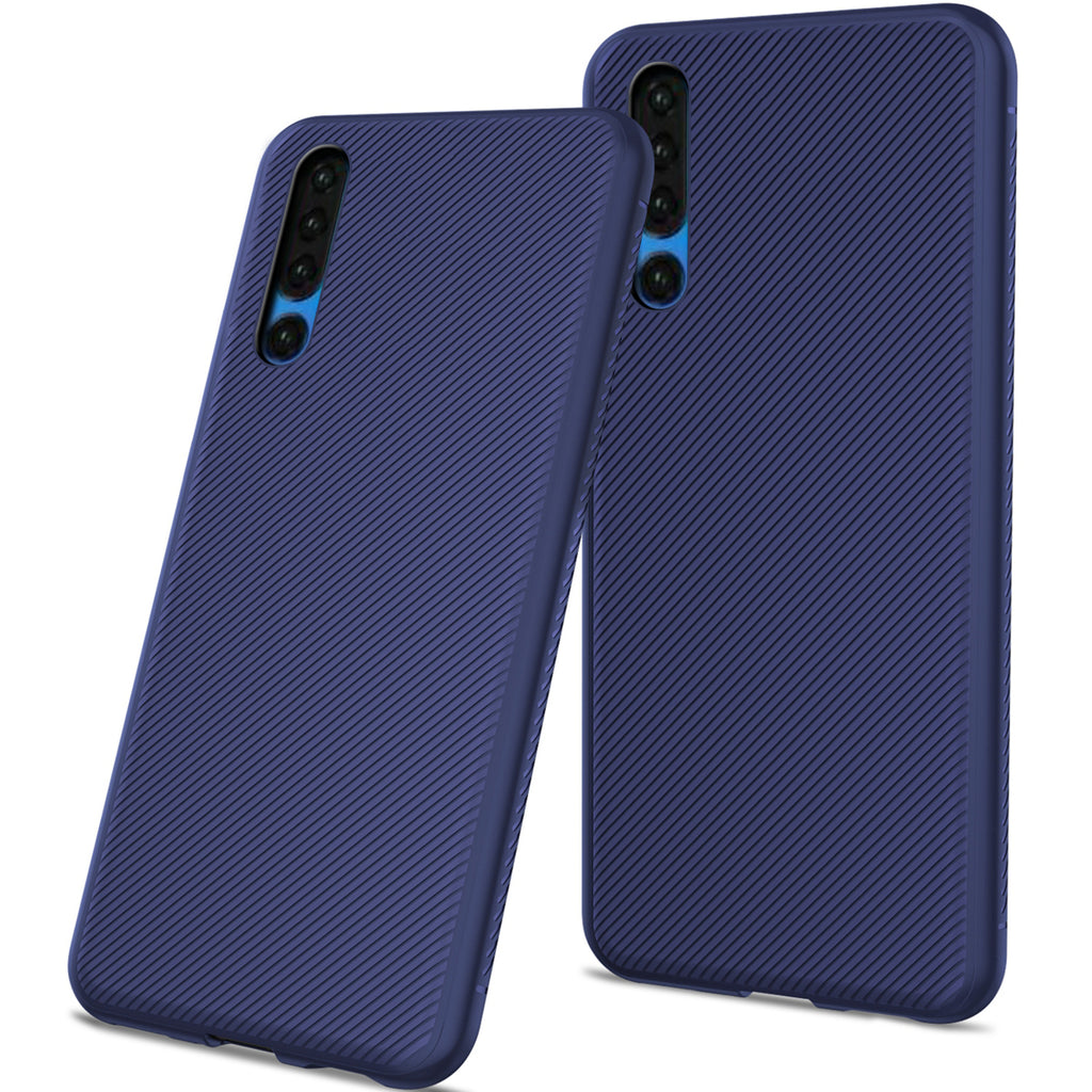 Xiaomi Mi Note 10 Case TPU Anti Fall All-round Protection Phone Cover Blue
