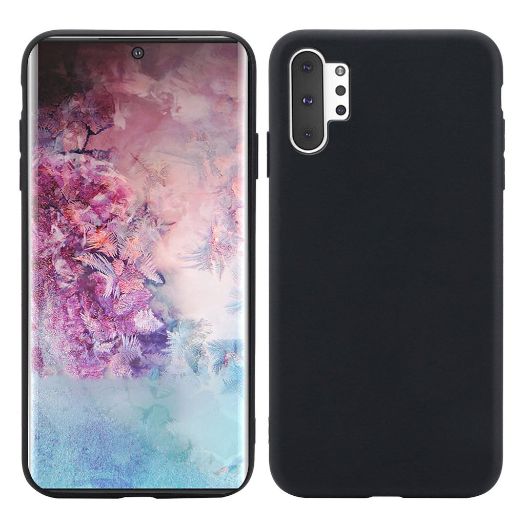 Case for Galaxy Note 10 plus TPU drop-proof ultra thin cover black