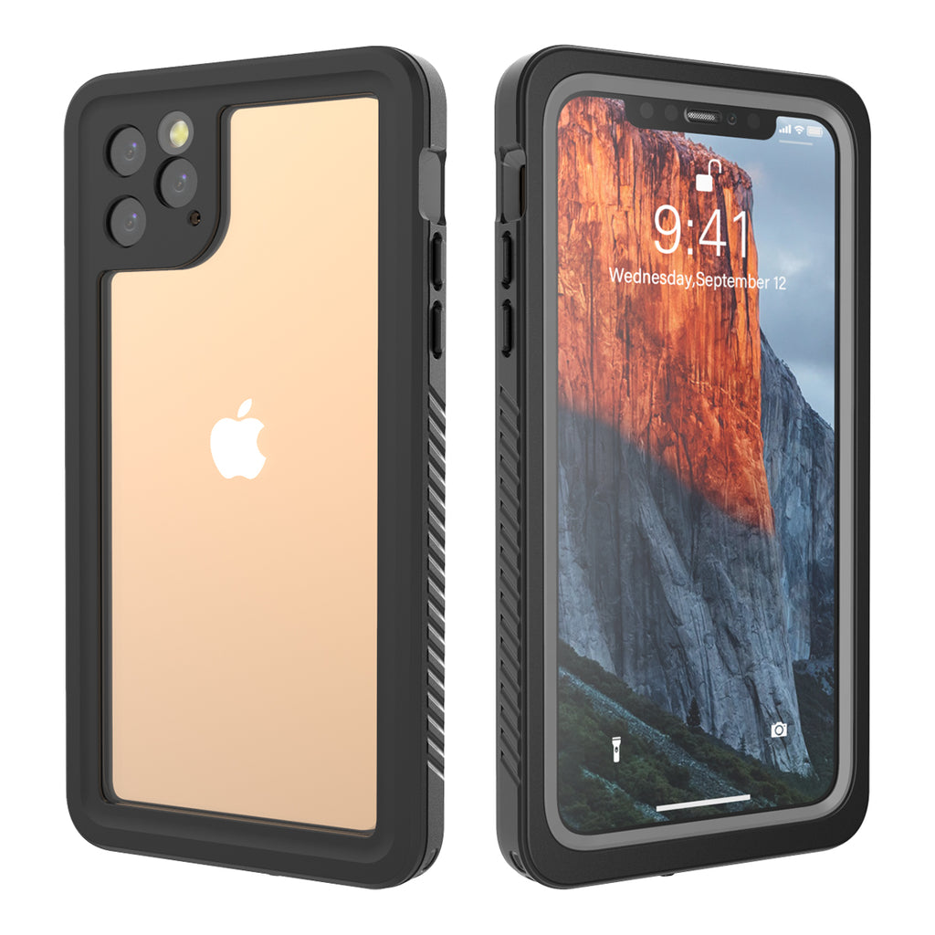 iPhone 11 pro max Waterproof Case IP68 Certificate Shockproof Underwater Case with Floating Strap