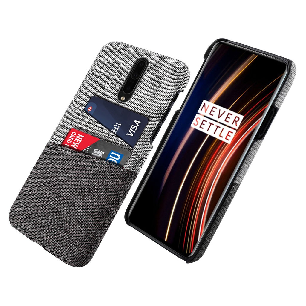 OnePlus 7T Pro Case Phone Credit Card Holder Card Case Phone Wallet Black
