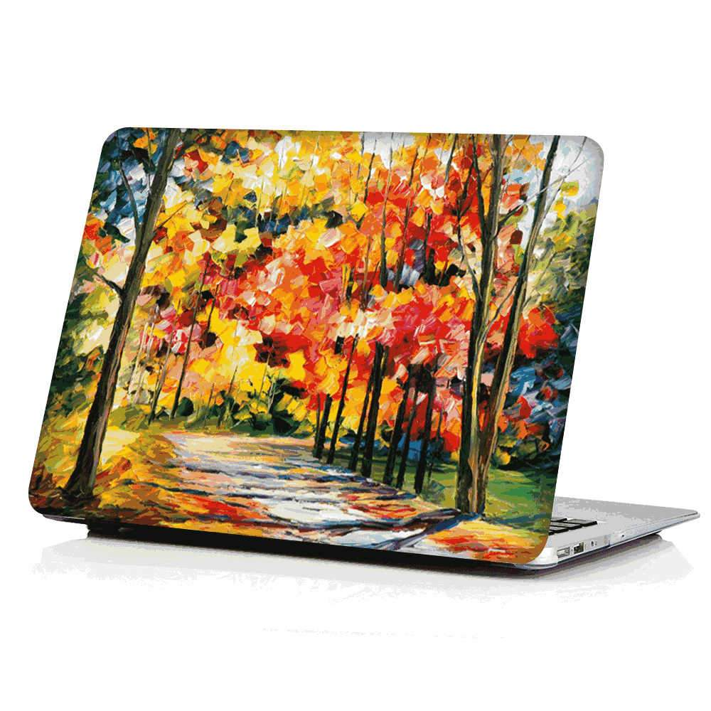 MacBook Pro 16 Inch 2019 Case Anti Scratch PC Hard Case for MacBook Pro Leaves
