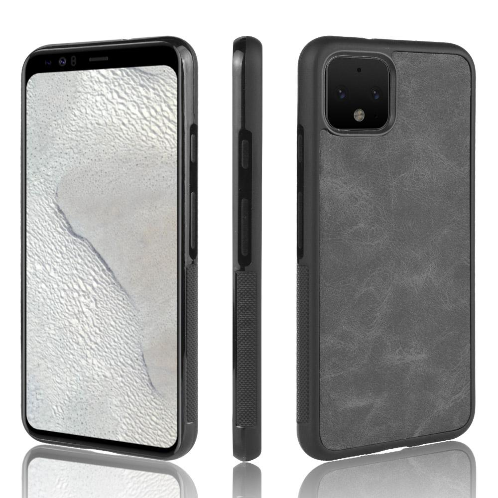 Pixel 4 Case Dual Layer Extreme Protection Slim Rugged Phone Case Black