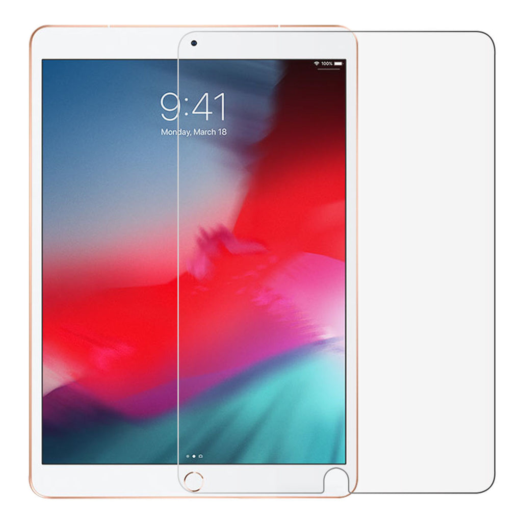 1 Pack iPad Air 2019 Tablet Screen Protector Bubble Free Tempered Glass Film