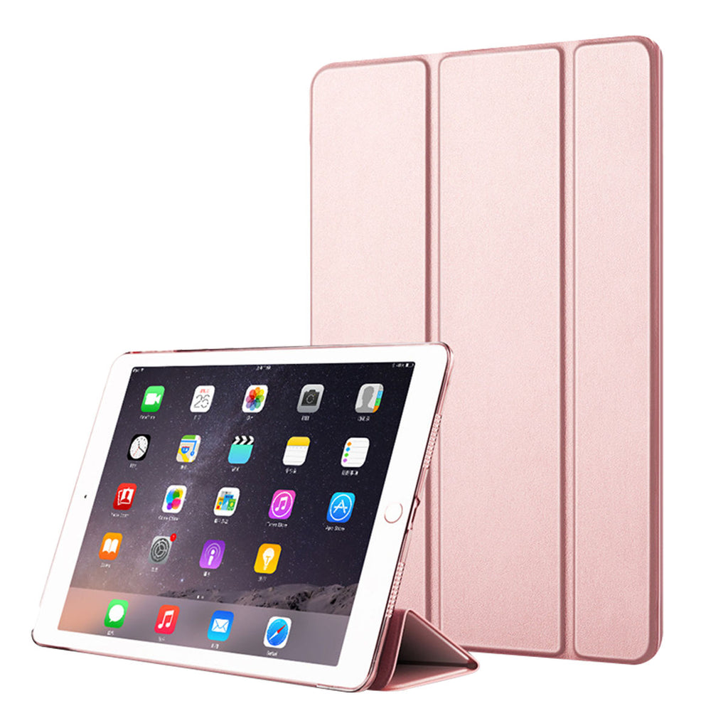 iPad Mini 5 2019 Leather Case Magnetic Auto Sleep/Wake Multiple Viewing Rose Gold