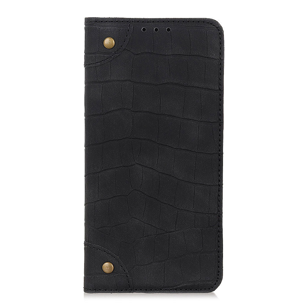 Oneplus 7 wallet case with card holder kickstand & magnetic closure black