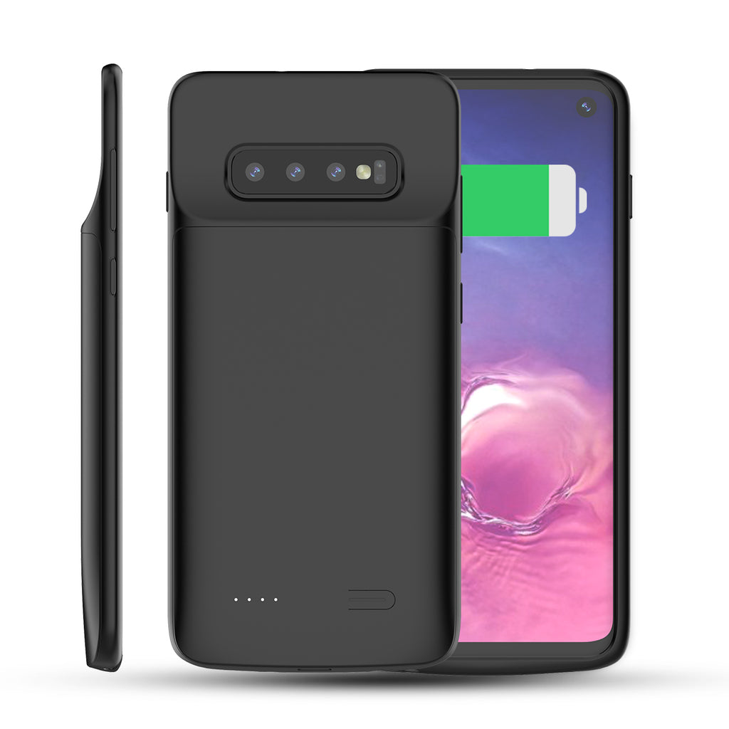 Samsung Galaxy S10 Battery Case Extended Pack Phone Cover 4700mAh Black