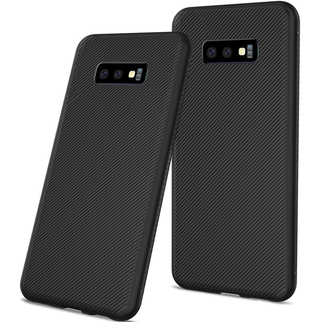 Samsung Galaxy S10e Case Back Cover Soft TPU Scratch Resistant Protective Shell Phone Black