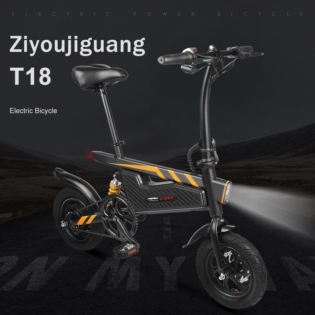Folding Electric Bike Aluminum E-Bike Aurora Smart Bicycle