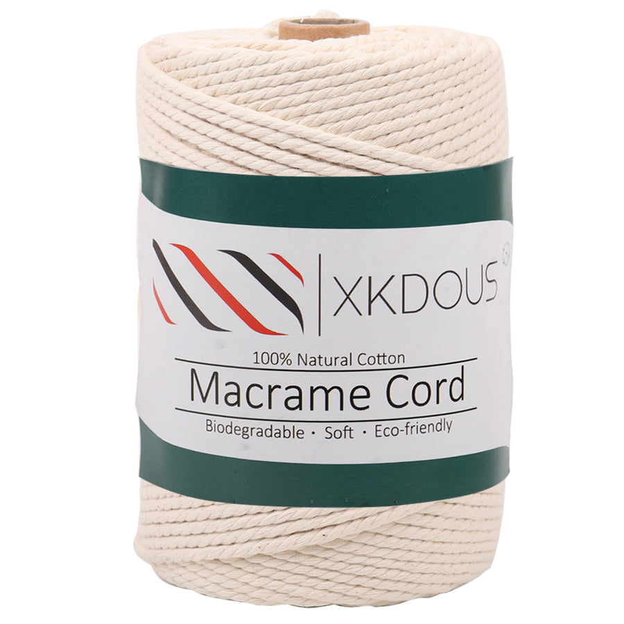 3mm 165yards Natural Color Macrame Cord