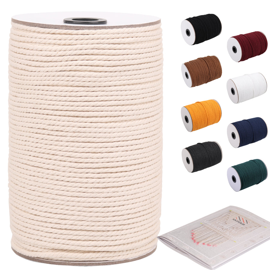 3mm Natural Color Macrame Cord