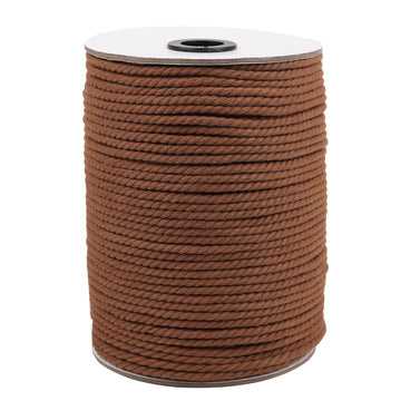 4mm Coffee Cotton Macrame Cord