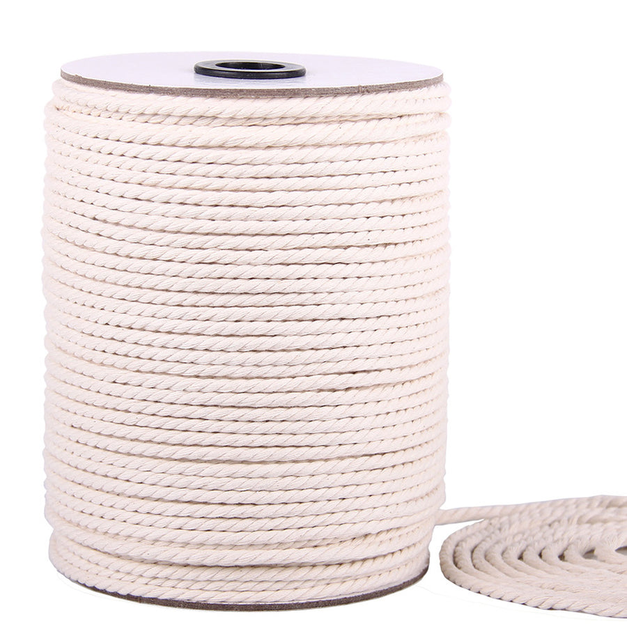4mm Natural Color Macrame Cord