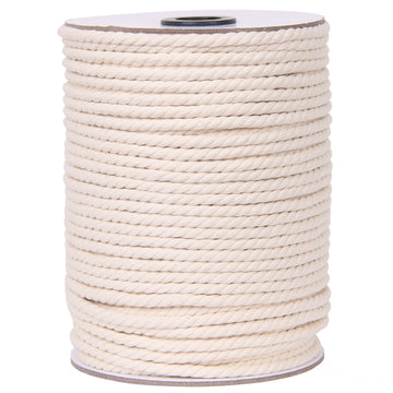 5mm Natural Color Macrame Cord