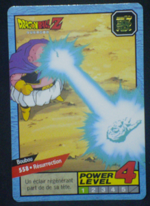 carte dragon ball z Carddass Le Grand Combat part 3 n°558 bandai 1996