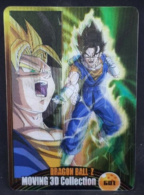 Carte Dragon Ball Morinaga Wafer Card Part 11 n°601 (2008) 3D moving Sushuu Card dx dragon ball vegeto cardamehdz