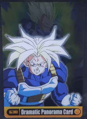 Carte Dragon Ball z Morinaga Wafer Card part 11 n°630 (2008) Sushuu Card dx dragon ball z trunks vegeta cardamehdz
