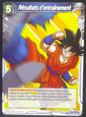 carte dragon ball super BT1-051 UC fr card game bandai 2018 songoku