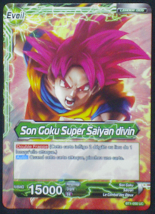 trading card game dragon ball super BT1-056 UC fr bandai 2018