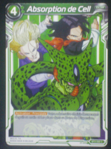 carte Dragon Ball Super Card Game Fr Part 2 BT2-096C Absorption de Cell bandai 2018