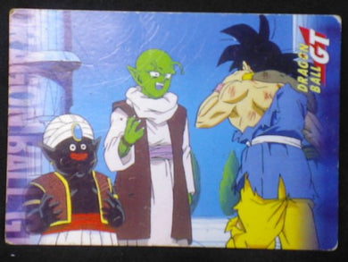 carte Dragon Ball GT Cards Part 2 n°19 (1999) panini songoku oub dende popo dbgt cardamehdz