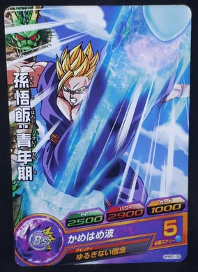 carte Dragon Ball Heroes Gumica Galaxy Mission Part 5 GDPBC1-02 (2012) bandai songohan dbh promo cardamehdz