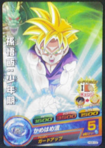 carte Dragon Ball Heroes Galaxy Mission Part 6 HG6-02 Gohan ado bandai 2013