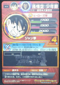 trading card game jcc carte Dragon Ball Heroes God Mission Part 5 HGD5-10 (2015) bandai songoku dbh gdm cardamehdz verso