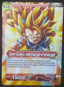 tcg jcc carte Dragon Ball Super Card Game Fr Colossal Warfare BT4-001 UC Songoku dbscg cardamehdz verso