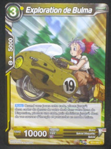 tcg carte Dragon Ball Super Card Game Fr Colossal Warfare BT4-09 C (2018) Exploration de Bulma dbscg cardamehdz
