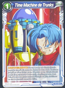 carte Dragon Ball Super Card Game Fr Part 2 BT2-066C Time Machine de Trunks bandai 2018
