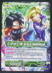 trading card game jcc Dragon Ball Super Card Game Fr Part 2 BT2-070UC C-17 bandai 2018