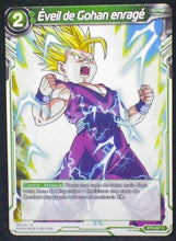 Charger l'image dans la galerie, carte Dragon Ball Super Card Game Fr Part 2 BT2-097C Éveil de Gohan enragé bandai 2018