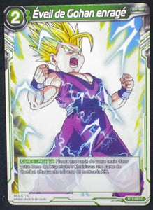 carte Dragon Ball Super Card Game Fr Part 2 BT2-097C Éveil de Gohan enragé bandai 2018