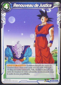 carte Dragon Ball Super Card Game Fr Part 3 BT3-053C Renouveau de Justice bandai 2018