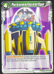 carte Dragon Ball Super Card Game Fr Part 3 BT3-079 C Pour la survie du Futur et de l Espoir