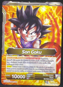 carte Dragon Ball Super Card Game Fr Part 3 BT3-083UC Son Goku bandai 2018