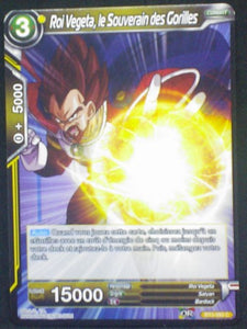 carte Dragon Ball Super Card Game Fr Part 3 BT3-093C Roi Vegeta, le Souverain des Gorilles bandai 2018