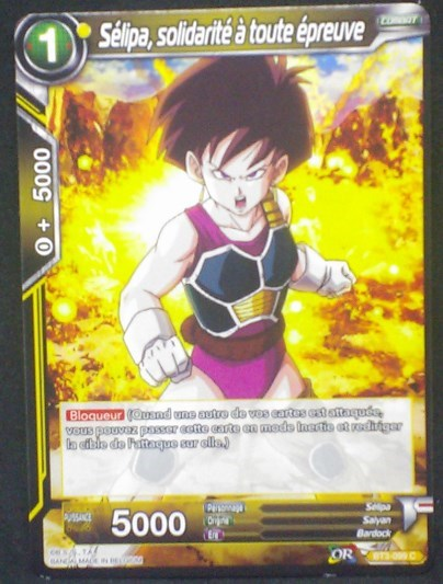 carte Dragon Ball Super Card Game Fr Part 3 BT3-099C Sélipa, solidarité à toute épreuve bandai 2018