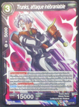 Charger l'image dans la galerie, carte Dragon Ball Super Card Game Fr Part 3 BT3-112UC Trunks, attaque inébranlable bandai 2018