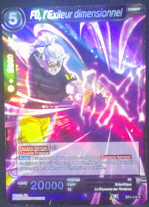 carte Dragon Ball Super Card Game Fr Part 4 BT4-118 R Fû, l Exileur dimensionnel bandai 2018