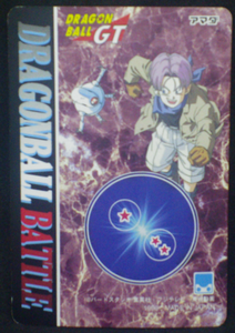 trading card jcc dragon ball z pp card part 30 n°15 amada 1996