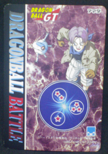 trading card jcc dragon ball gt pp card part 30 n°30 amada 1996