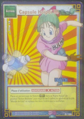 trading card game fr carte dragon ball Cartes à jouer et à collectionner (JCC) Part 2 D-196 db bulma cardamehdz