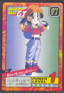 carte dragon ball gt Super Battle Part 17 n°715 (1996) bandai pan dbgt